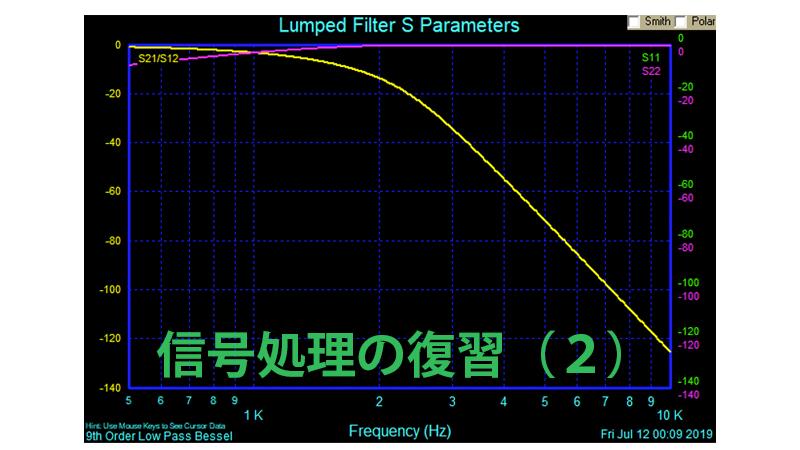 信号処理の復習(2)
